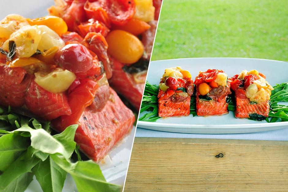 Grilled Sockeye Salmon Recipe – Glowbal Restaurant Group ...