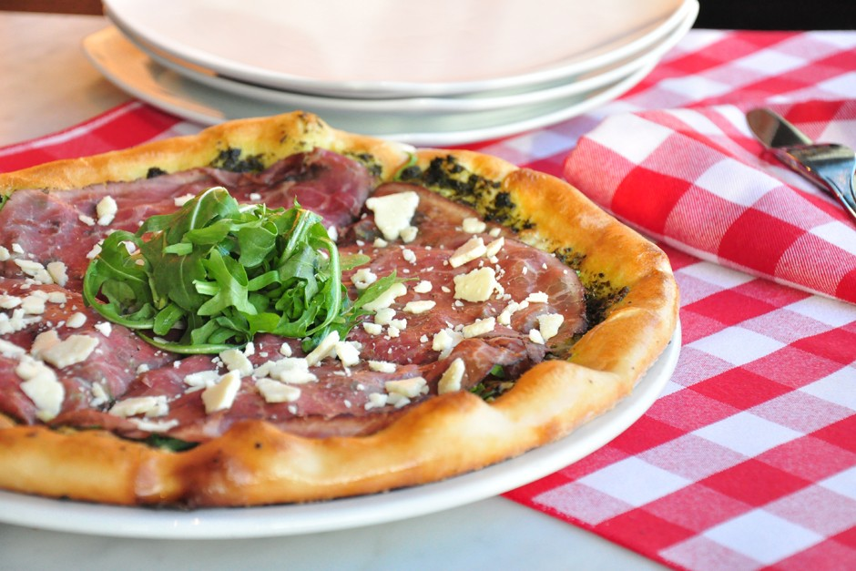 Trattoria Launches New Pizza Menus