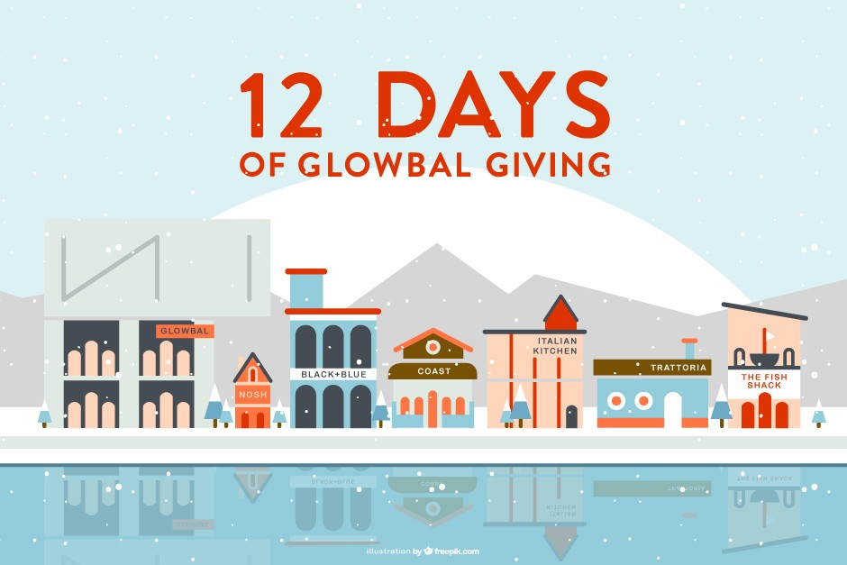 12 Days of Glowbal Giving