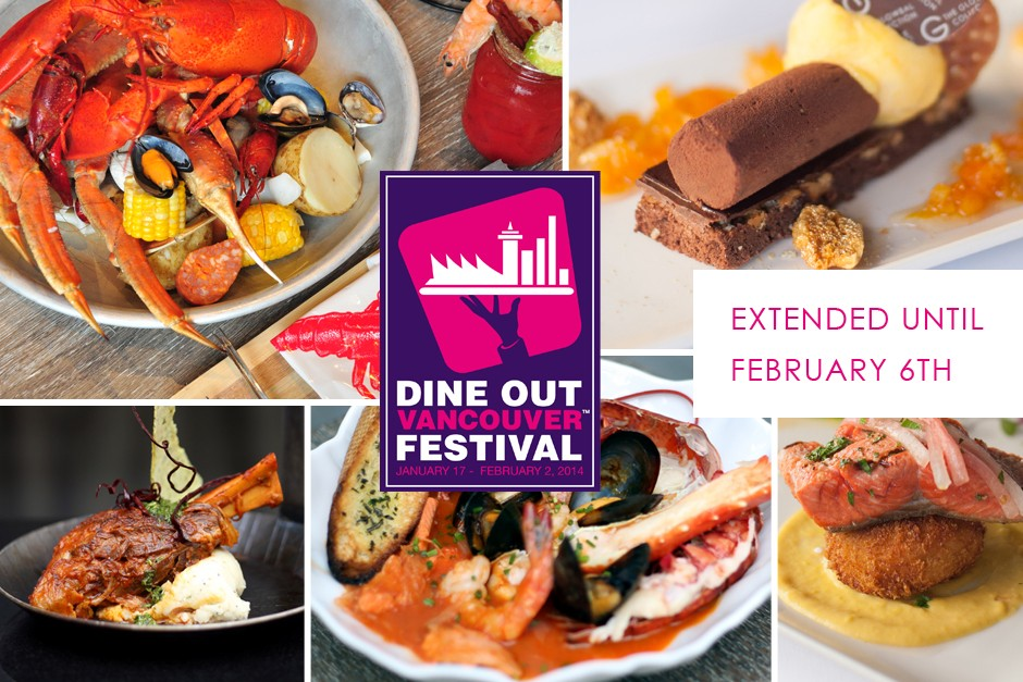 Dine Out Vancouver Extended Until February 6