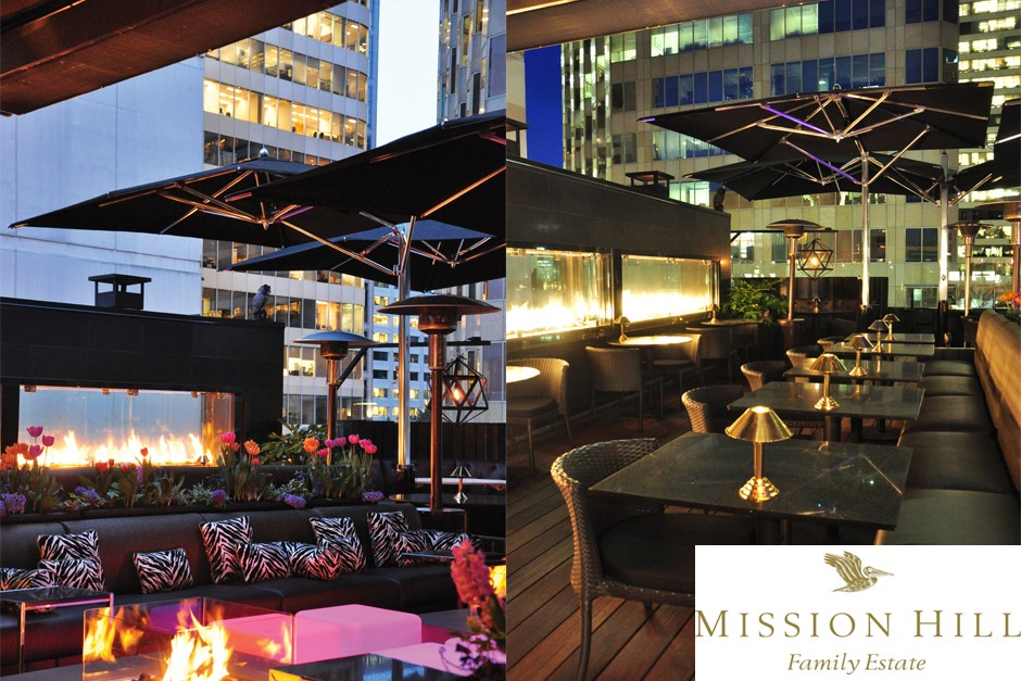 Mission Hill Winemaker's Dinner on The Roof