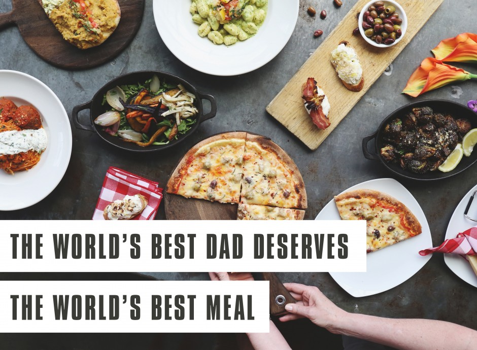The World's Best Dad Deserves the World's Best Meal