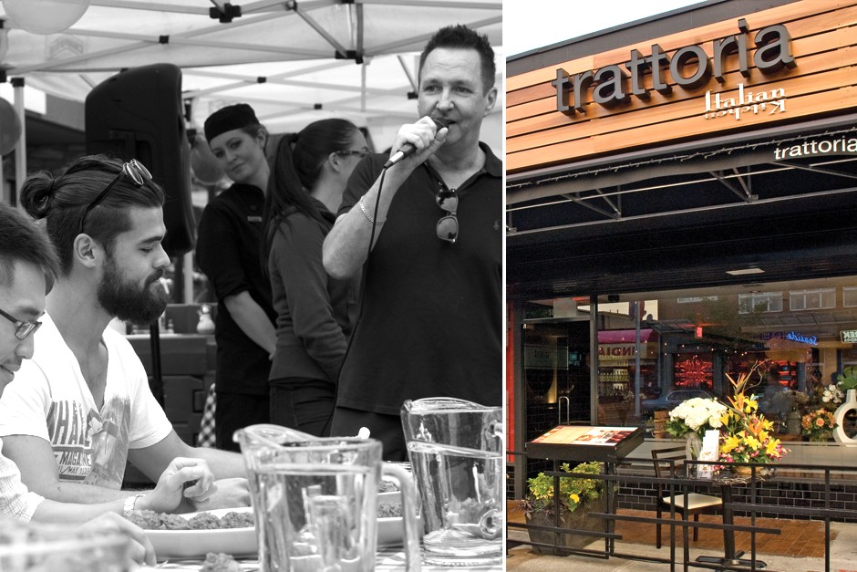 Trattoria Kitsilano's Meatball Eating Competition for 2016