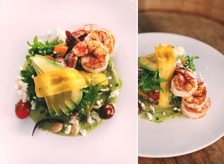 Glowbal's Prawn & Quinoa Salad