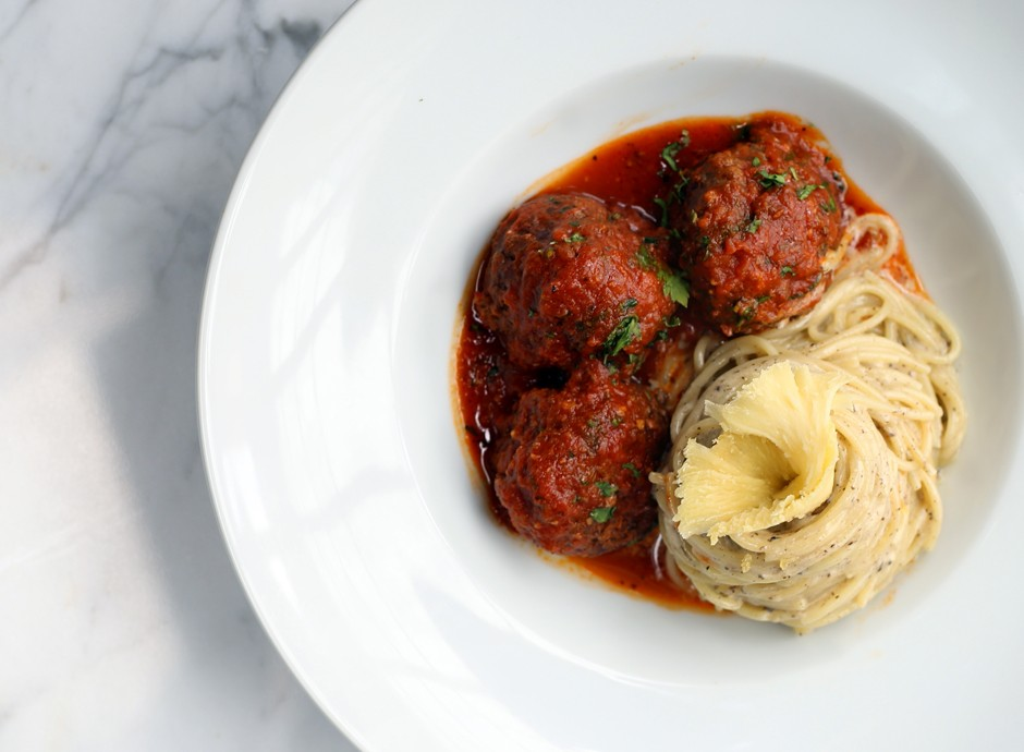 Our Famous Truffled Spaghetti & Signature Meatballs