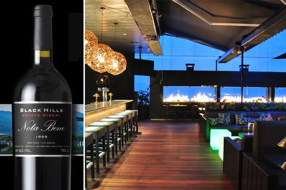 Black Hills Wine Dinner on The Roof at Black+Blue