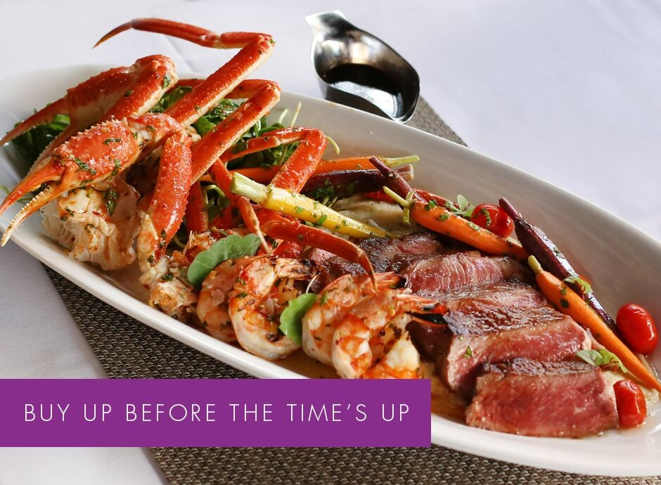 Buy Up Before The Time's Up | 3 Course Dinner at Coast