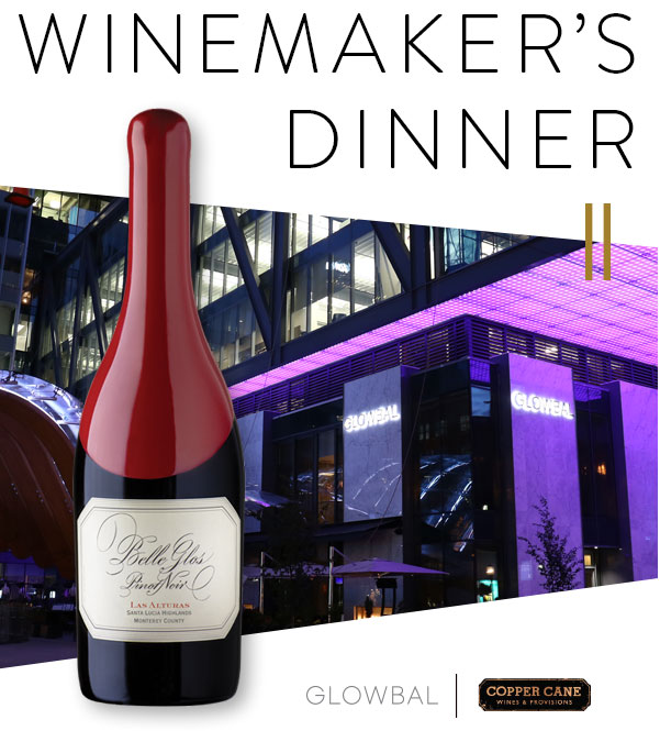 A Winemaker's Dinner at Glowbal