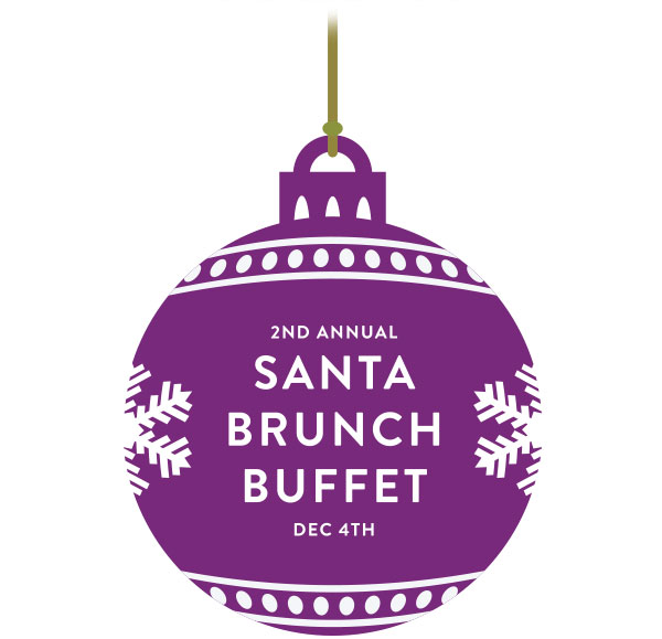 Join Santa & Mrs. Claus for a Buffet Brunch at Glowbal!