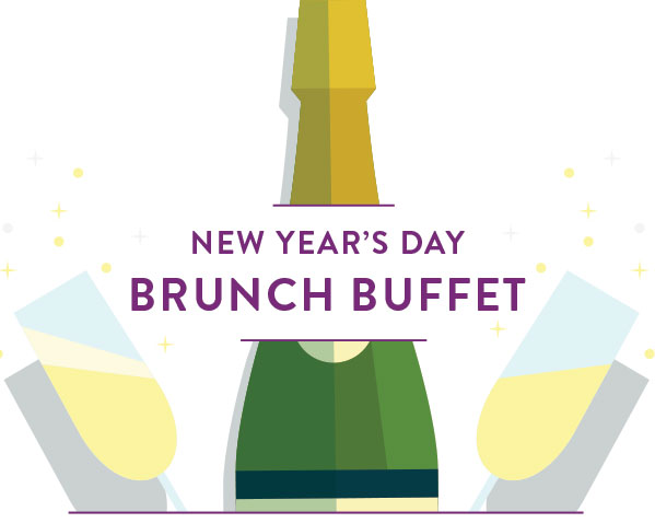 A New Year's Day Brunch Buffet at Glowbal!