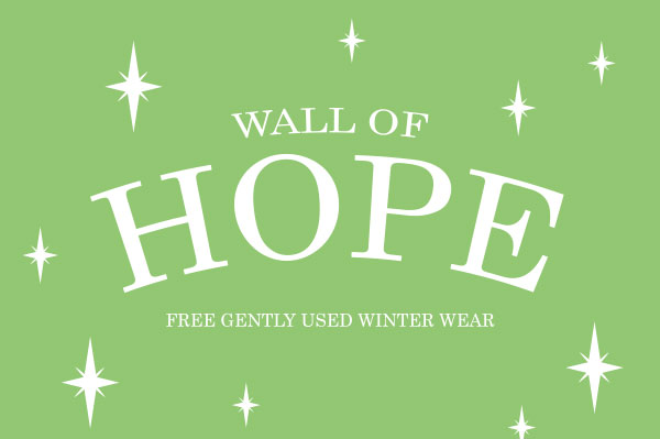 Help us fill the Wall of Hope