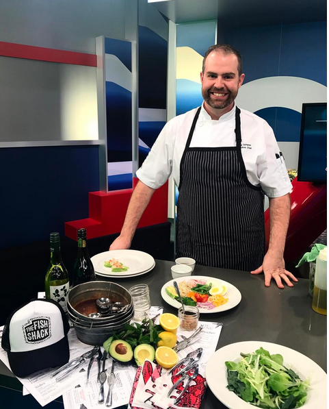WATCH: The Fish Shack's Chef Craig Scherer on Global TV!