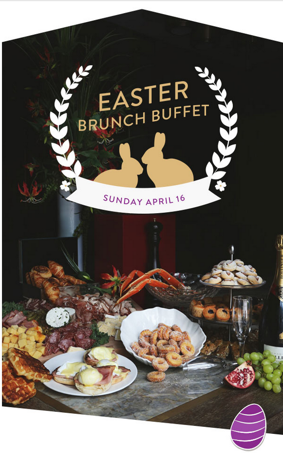 Book today for an Easter Brunch Buffet!