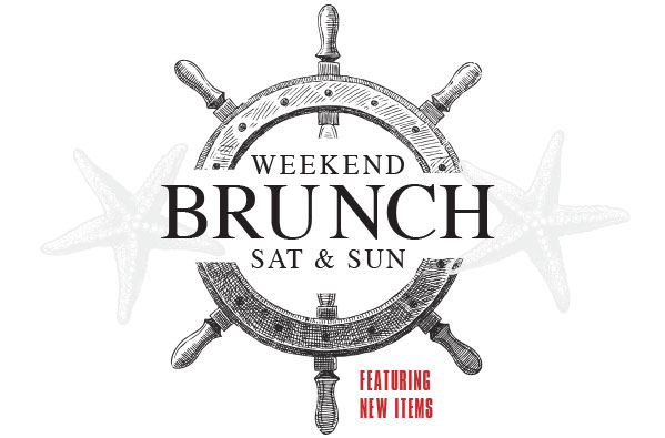 Weekend Brunch at The Fish Shack!