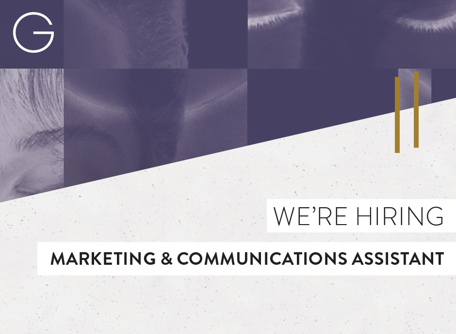NOW HIRING:  Marketing & Communications Assistant