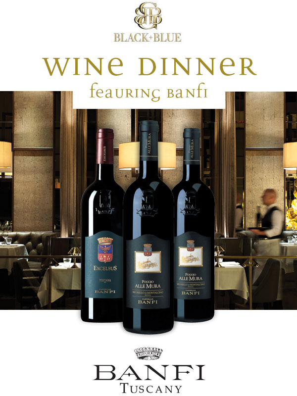 An Exclusive Banfi Wines Evening
