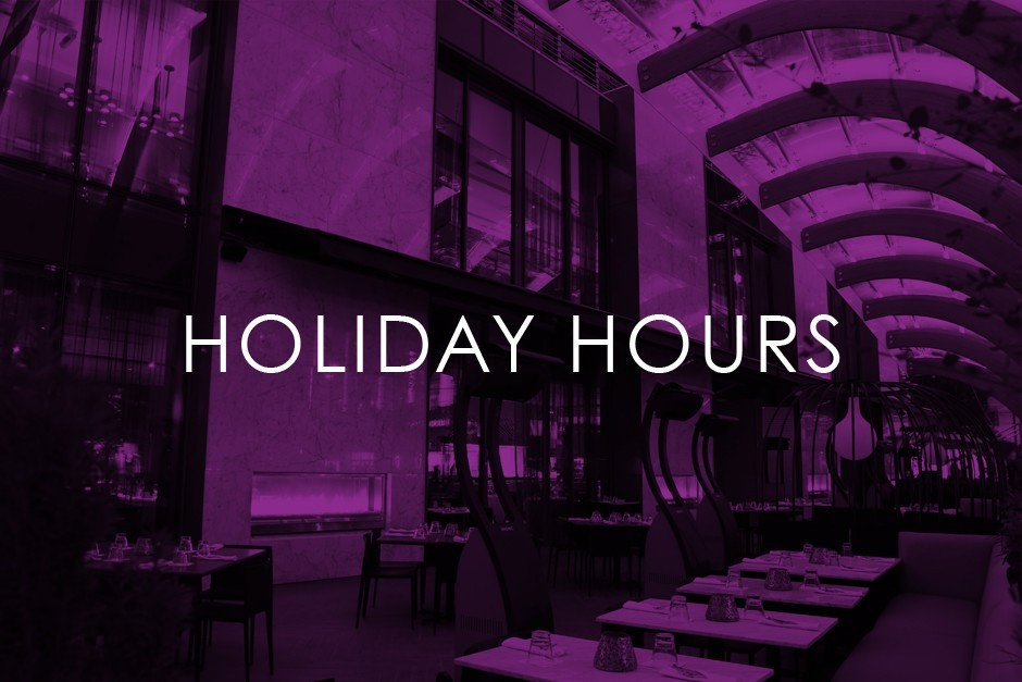 Nov. 11 Weekend Holiday Hours