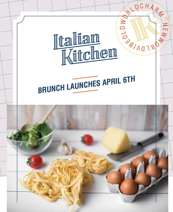 Italian Kitchen Launches Weekend Brunch!