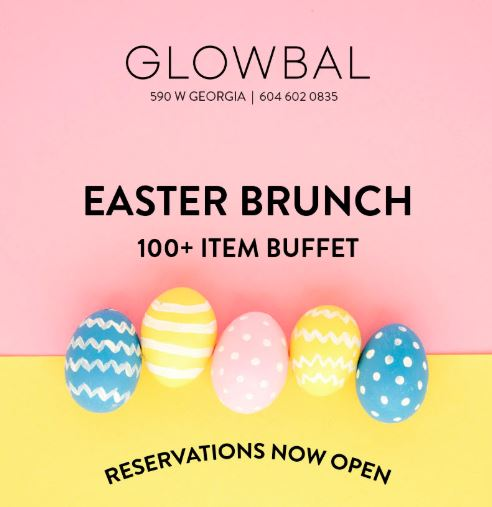 Extra Early Start for Easter Brunch – Doors Open at 9:30!